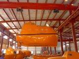 CCS Goedgekeurde FRP sloot totaal de Reddingsboot van het Type en de Elektrische Kraanbalk van de Kruk in