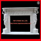 Мраморный Statuary каминная доска камина Surround камина камина