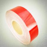 Zustimmungs-Fahrzeug-Augenfälligkeit rote Farbe ECE-104, die reflektierendes Band markiert