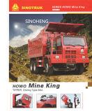 販売のためのSinotruk Hova鉱山のダンプのダンプカートラック