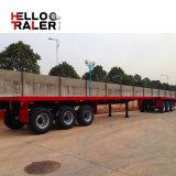 40 voet 3 Aanhangwagen van het Nut van de Vrachtwagen van de Tractor van de As Flatbed Zware Semi