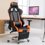 Silla moderna de la oficina del cuero de la silla del juego del ordenador de los muebles de oficinas