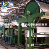 Fábrica de papel de la producción de residuos de papel Rollo de papel higiénico que hace la máquina para la venta