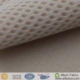 Tela de engranzamento A1617 de confeção de malhas respirável poli para a parte superior de sapatas