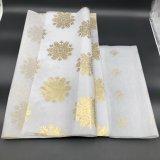 Fleur simple neuve de cadeau de papier de fleuriste de type enveloppant le papier de soie de soie