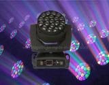 Effekt-Träger-bewegliches Hauptlicht des Lehm Paky Bienen-Augen-19PC 15W K10 Osram LED
