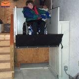 Preço residencial da plataforma do elevador da cadeira de rodas do preço do elevador da altura vertical hidráulica do tipo 3m do Morn para a pessoa idosa