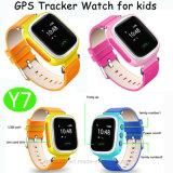 Kinder intelligenter GPS-Uhr-Verfolger mit den sortierten Farben erhältlich (Y7)