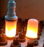 Stile di CC 5V della lampadina di effetto di fuoco della lampadina della fiamma ricaricabile con il sensore di gravità
