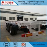 de Oplegger van de Container 2axle/3axle/4axle 40FT/20FT met Landingsgestel Jost