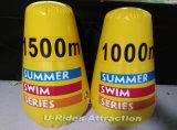 Bouées gonflables de sécurité de l'eau pour la plage