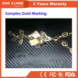 금 은 반지 조각 기계 휴대용 섬유 Laser 조판공 20W 30W 50W