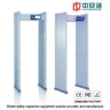 24 Las zonas detección prisiones impermeables Inspección Arco detector de metales con 100 niveles de seguridad