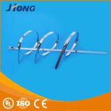 Banden van de Kabel van Ruber van het Silicone Cabletie van de Band van de Kabel van het roestvrij staal de Nylon