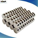 Рекламные металлокерамические постоянных магнитов NdFeB формы диска для двигателя