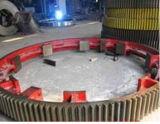 De gran tamaño personalizado de acero de aleación de forja Herrigbone Gear