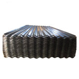 Toit de métal de tôle en acier ondulé galvanisé Galvalume