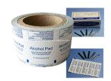 El papel de embalaje de papel de aluminio en caliente para limpiar la piel antes de la inyección