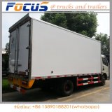 Good quality 8 tone mobile Cold Van Truck, Refrigerator Frozen Food feed Truck