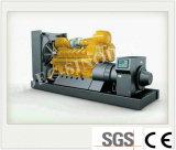 Gruppo elettrogeno raffreddato ad acqua fornito fabbrica del gas naturale di grande potere 130kw