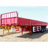 Transporte de carga mercadorias 3 Eixos a caixa de carga Carreta
