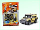 Promotion Toys (H4551409)를 위한 DIY 3D Puzzle Pull Back Cars