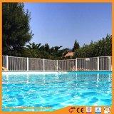 Powder Coated Flat Signal Iron/Aluminum Swimming Fence Pool