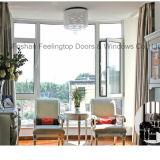 Fenêtre composée en bois d'aluminium Swing Feelingtop Swing