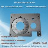 Pièces de usinage de commande numérique par ordinateur du sablage Aluminum6063 de pièces de rechange de machines d'usine/précision