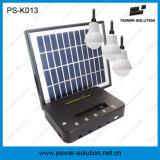 4W nécessaire solaire d'ampoules du panneau solaire 3PCS 1W SMD DEL avec le chargeur de téléphone