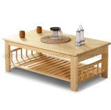 Твердая деревянная обедая мебель комнаты стола живущий (M-X2861)