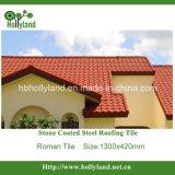 Cascajos de techos de metal recubierto de hojas (tipo Romano)