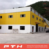 Almacén de la estructura de acero del diseño de la construcción