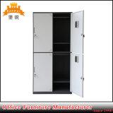 Jas-027 Luoyang Fabricante Novo Projeto Escola de 4 portas armário guarda-roupa de metal de armazenamento