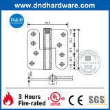Шарнир SUS оборудования нержавеющей стали для двери при аттестованный UL (DDSS021)