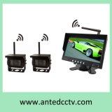 Sistema sem fio do Rearview da segurança do carro de 2 canaletas com câmera e monitor