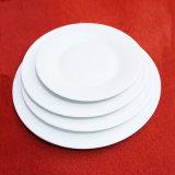 Louça branca por atacado da porcelana do restaurante