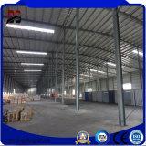 La construction en acier légère célèbre de Prefabricaton structure l'entrepôt