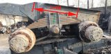 De gebruikte As van het Deel van de Vrachtwagen Dubbele Achter voor HOWO Shacman