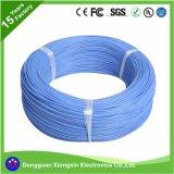 fio e cabo flexíveis revestidos da trança da fibra de vidro do silicone de 245IEC03 Yg