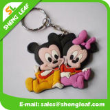Fornecimento Custom Mickey Mouse Rubber Soft PVC Key Chain (SLF-KC094)
