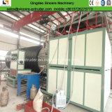 HDPE에 의하여 윤곽을 그리는 빈 벽 나선 감기 관 밀어남 선 또는 만들기 기계