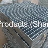 Rejilla de acero galvanizado de alta calidad para la plataforma de ancho de vía y de las escaleras