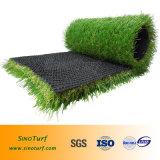 Коммерчески синтетическая дерновина, селитебная искусственная трава, декоративная искусственная лужайка, трава ландшафта поддельный