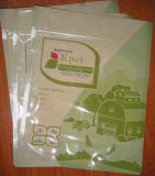 - Сумка для упаковки ПЭТ продукты с молнией