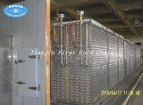 Qualität verflüssigte schnelle Gefriermaschine für Beeren, flacher Pfirsich, Longan