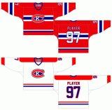 Liga de Hóquei de Ontário personalizados Kingston canadianos 1973-1988 Home e hóquei no gelo Jersey