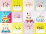 Suministros de cumpleaños feliz Adorno de Torta de agricultor Banner