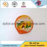 Напечатано герметичность крышки из алюминиевой фольги йогурт наружное кольцо подшипника