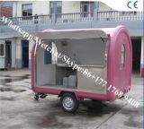 Carro ao ar livre do alimento para o fabricante da máquina do Crepe